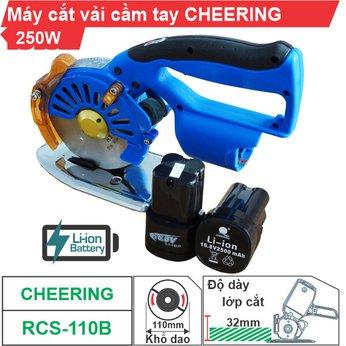 Máy cắt vải cầm tay Cheering RCS-110B (dùng pin)