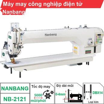 Máy may công nghiệp điện tử Nanbang NB-2121 (1 kim)