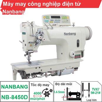 Máy may công nghiệp điện tử Nanbang NB-8450D (1 kim)