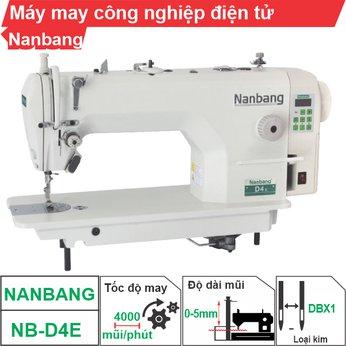 Máy may công nghiệp điện tử Nanbang NB-D4E (1 kim)