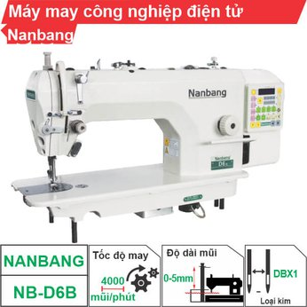 Máy may công nghiệp điện tử Nanbang  NB-D6B (1 kim)