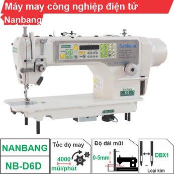 Máy may công nghiệp điện tử Nanbang NB-D6D (1 kim)