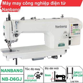 Máy may công nghiệp điện tử Nanbang NB-D6GJ (1 kim)