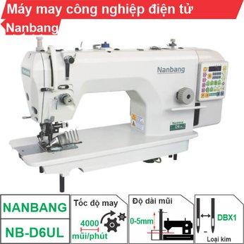 Máy may công nghiệp điện tử Nanbang NB-D6UL (1 kim)