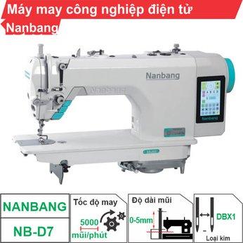 Máy may công nghiệp điện tử Nanbang NB-D7 (1 kim)