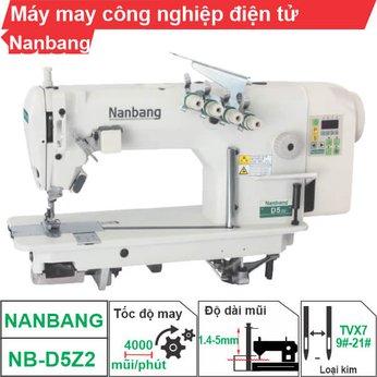 Máy may công nghiệp điện tử Nanbang NB-D5Z2 (2 kim)