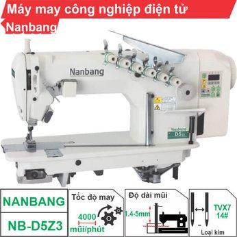 Máy may công nghiệp điện tử Nanbang NB-D5Z2 (3 kim)