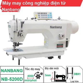 Máy may công nghiệp điện tử Nanbang NB-5200D (1 kim)