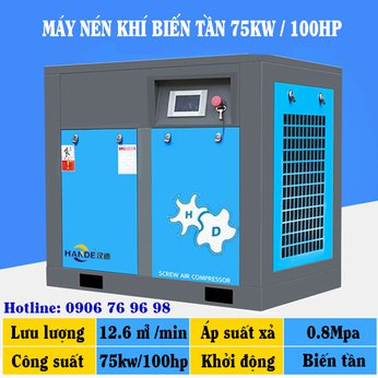 Máy Nén Khí Biến Tần 100HP