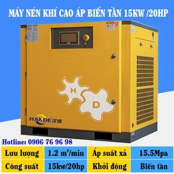 Máy Nén Khí Cao Áp Biến Tần 20HP