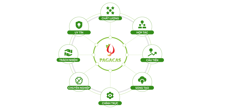Giá trị cốt lõi của PAGACAS