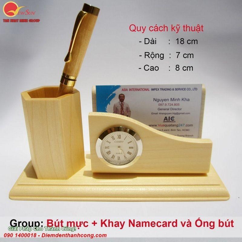 **Bút GỗKhắc Tên Quà Tặng - Vua Quà Việt - 0901460008