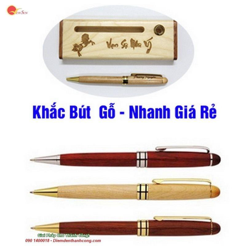 Bút Gỗ Khắc Tên Quà Tặng, bút ký khắc tên (2)