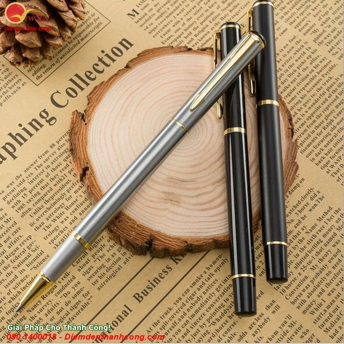 **Bút Ký Kim Loại Khắc Tên Tinh tế - Vua Quà Việt - 0901460008