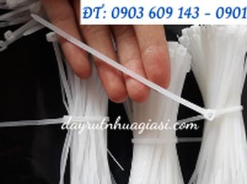 Dây rút nhựa giá rẻ tại nhà sản xuất Thu Hồng