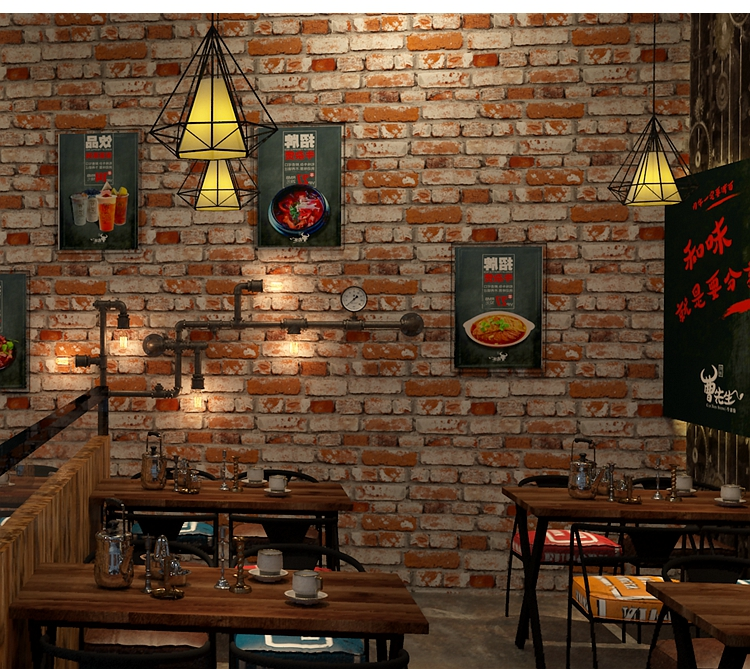Trang trí quán Cafe bằng Giấy dán tường - Giải pháp đơn giản nhưng hiệu quả Thẩm mỹ cao