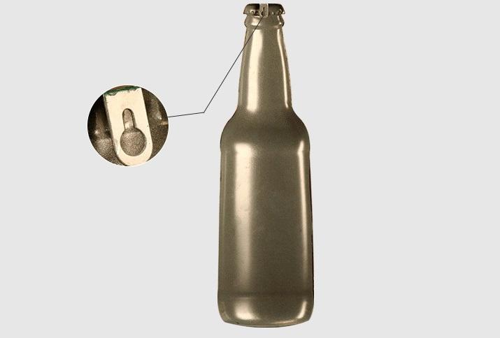 Mô hình Chai bia sắt