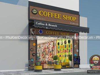 Thiết kế quán Cafe mặt tiền ngang 5m có dễ như Bạn nghĩ không?