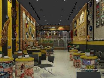 Đồ Decor trang trí Quán Cafe, Vật liệu thiết kế thi công quán Cafe đẹp theo phong cách Retro, Vintage, Loft