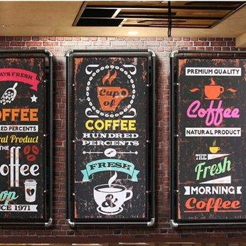 Tranh Cafe Beer Treo Tường
