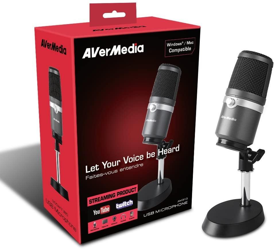Thiết bị Micro Live Streamer Avermedia AM310