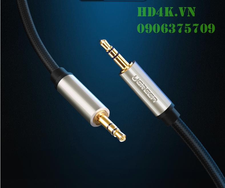 Cáp âm thanh 3.5mm 5M Ugreen 40783