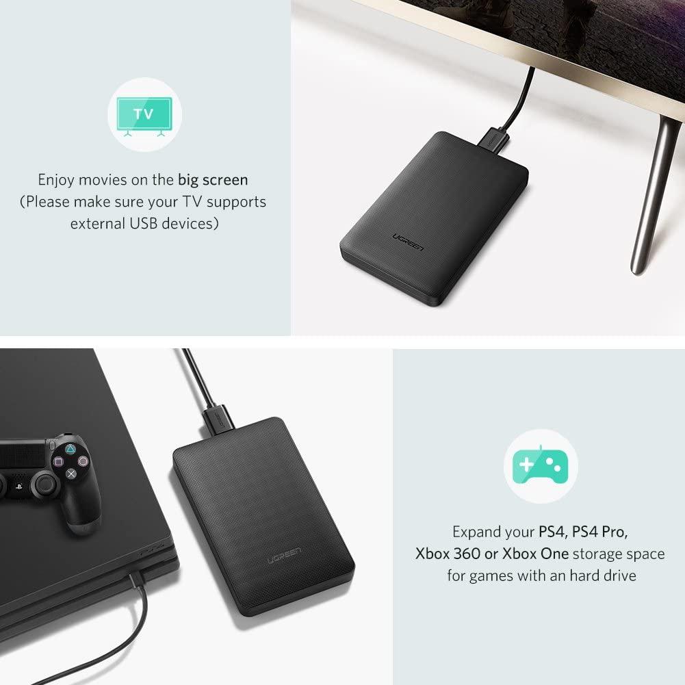 Hộp đựng ổ cứng 2.5 inch USB 3.0 Ugreen 50208