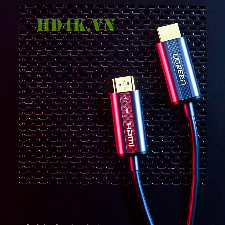 Cáp HDMI 2.0 sợi quang 5m hỗ trợ 4K60Hz Ugreen 50716