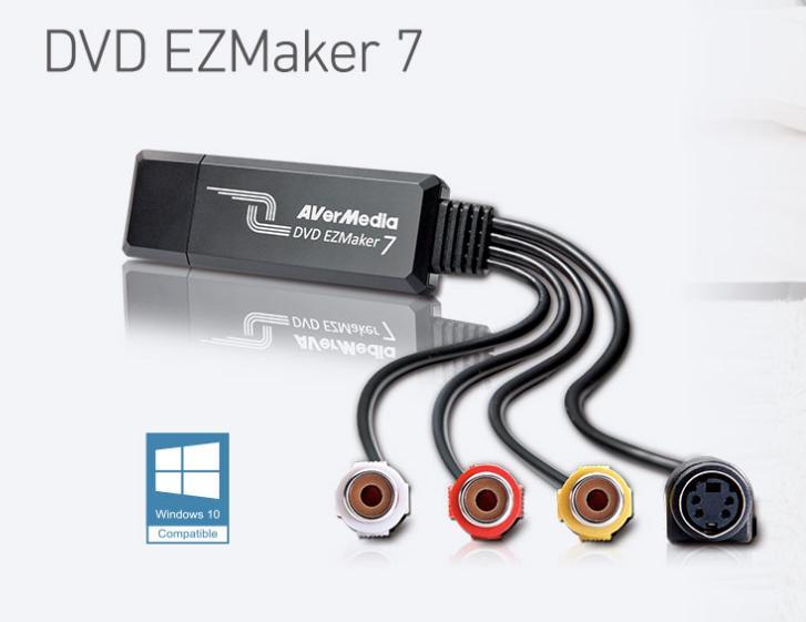 Thiết bị ghi hình AV Svideo cổng  USB 2.0 Avermedia C039