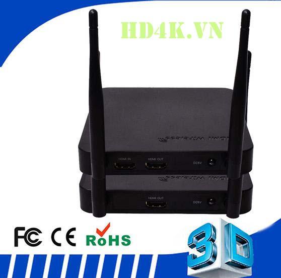 Bộ khuếch đại HDMI không dây 100m Full HD LG-HDEX