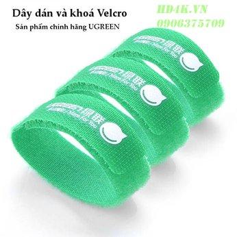 Dây dán Velcro tiện dụng (3 chiếc/ túi) dài 17cm Ugreen 20314