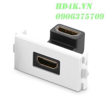 Đế HDMI góc 90 âm tường - Socket Outlet Ugreen 20318
