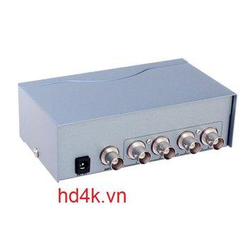 Bộ chia BNC 1 ra 4 Dtech DT- 7104