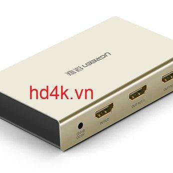 Bộ chia HDMI 1 ra 2 hỗ trợ 4K, 3D Ugreen 40276