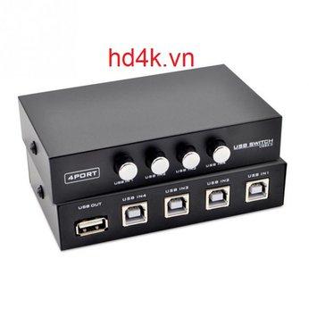 Bộ chia máy in 1 ra 4 cổng USB Mt-Viki MT-1A4B-CF