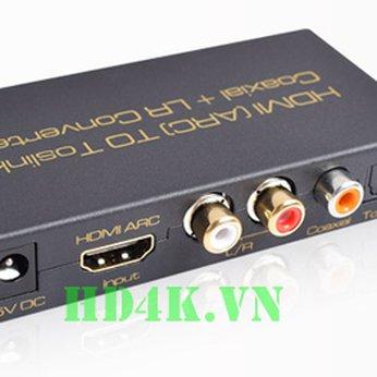 Bộ chuyển HDMI (ARC) sang AV (RCA) AIS