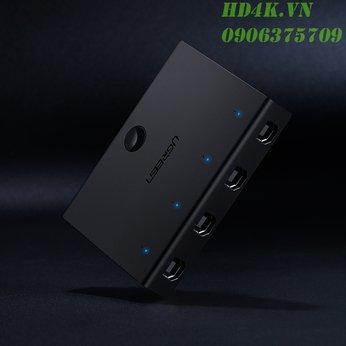 Bộ điều khiển đồng bộ 4 cổng USB Ugreen 60101
