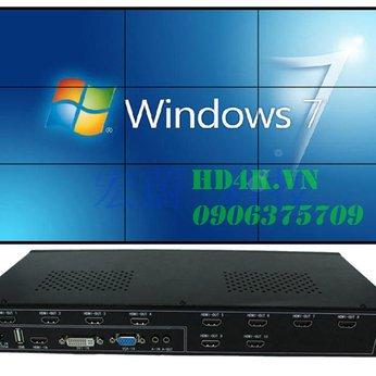 Bộ ghép màn hình Tivi Wall Controller - 09 màn hình HW