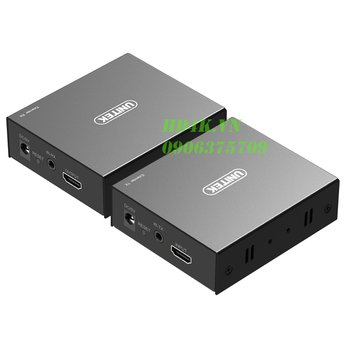Bộ khuếch đại HDMI dài 150m qua mạng Lan Unitek V101A