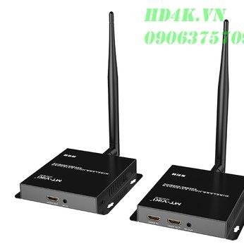 Bộ khuếch đại HDMI không dây 100m Full HD MT-VIKI MT-EDW100