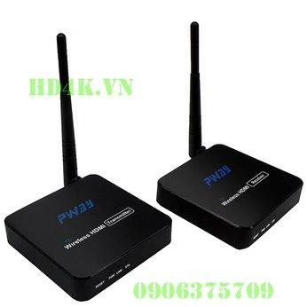 Bộ khuếch đại HDMI không dây 100m full HD PWAY