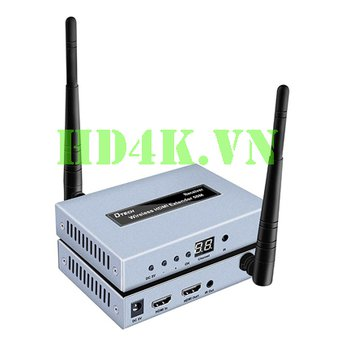 Bộ khuếch đại HDMI không dây 50m full HD Dtech DT-7060