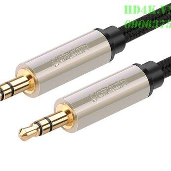 Cáp âm thanh 3.5mm 1M Ugreen 40779
