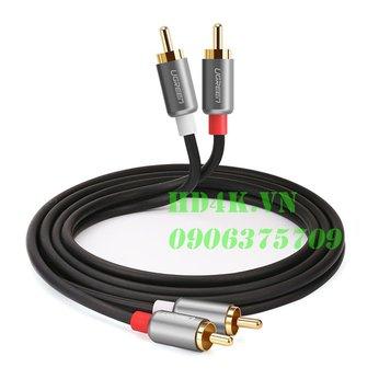 Cáp âm thanh AV 2-2 dài 0.5m Ugreen 40931