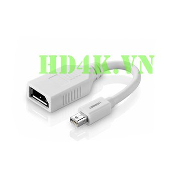 Cáp chuyển Mini Displayport to Displayport âm Ugreen 10445