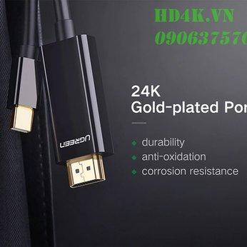 Cáp chuyển Mini DisplayPort to HDMI 1.5M Ugreen 10450
