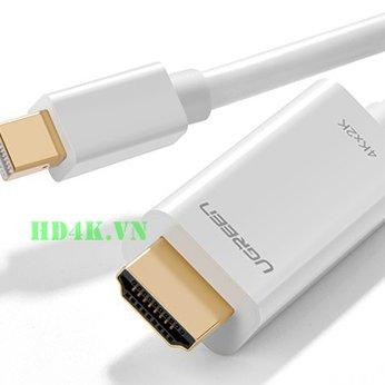 Cáp chuyển Mini DisplayPort to HDMI 2M 4K Ugreen 10452