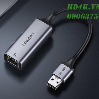 Cáp chuyển USB 3.0 to Lan (10/100/1000 Mbps)  Ugreen 50922