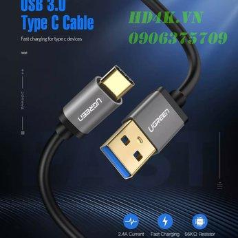 Cáp chuyển USB Type C to USB 3.0 dài 2m Ugreen 30535