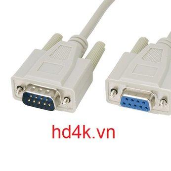 Cáp com RS232C nối chéo 3M